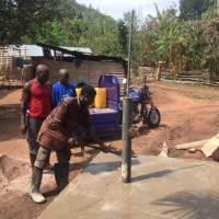 Challenges Worldwide ICS alumni Bright was inspired by ICS to bring clean water to his village