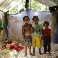 Cox's Bazar in eastern Bangladesh is now home to almost 700,000 Rohingya refugees