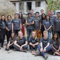 A team of ICS volunteers in Nepal