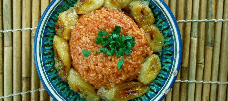 Jollof rice, a Nigerian delicacy, consumed across the whole of West Africa