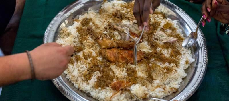 Senegalese rice dish