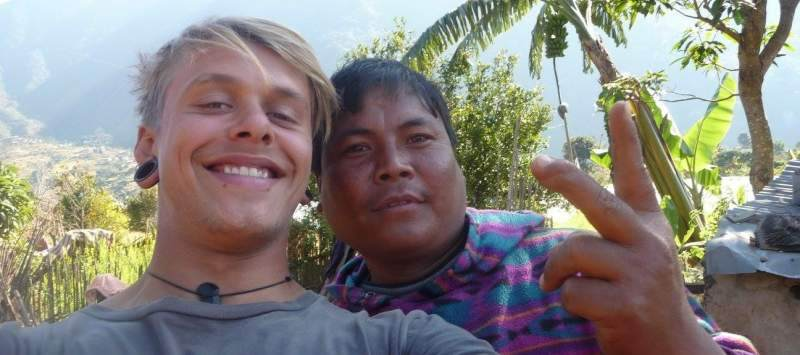 Jake Neal on placement in Nepal