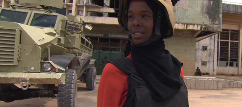 Samira featured in a BBC documentary about her escape from Somalia