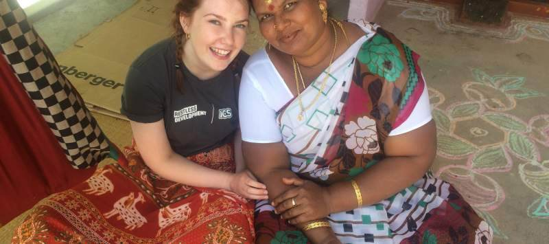 Eleanor Frost on placement in Tamil Nadu, India