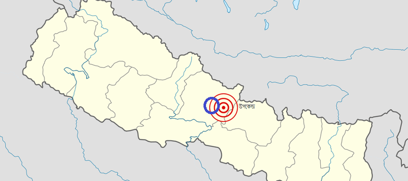 The epicentre of the earthquake was in Gorkha, just 36 miles from where Keah was based in Sotipasal