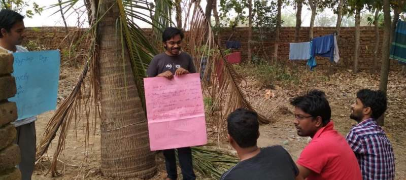 Samiul's ICS experience enabled him to apply to volunteer with the Rohingya