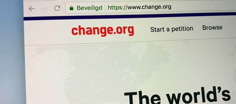 Platforms like Change.org have seen users achieve huge results through petitions