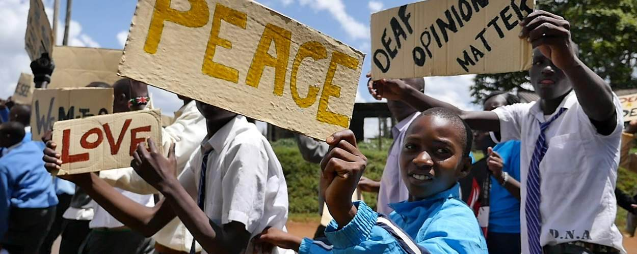 March for deaf rights in Kenya