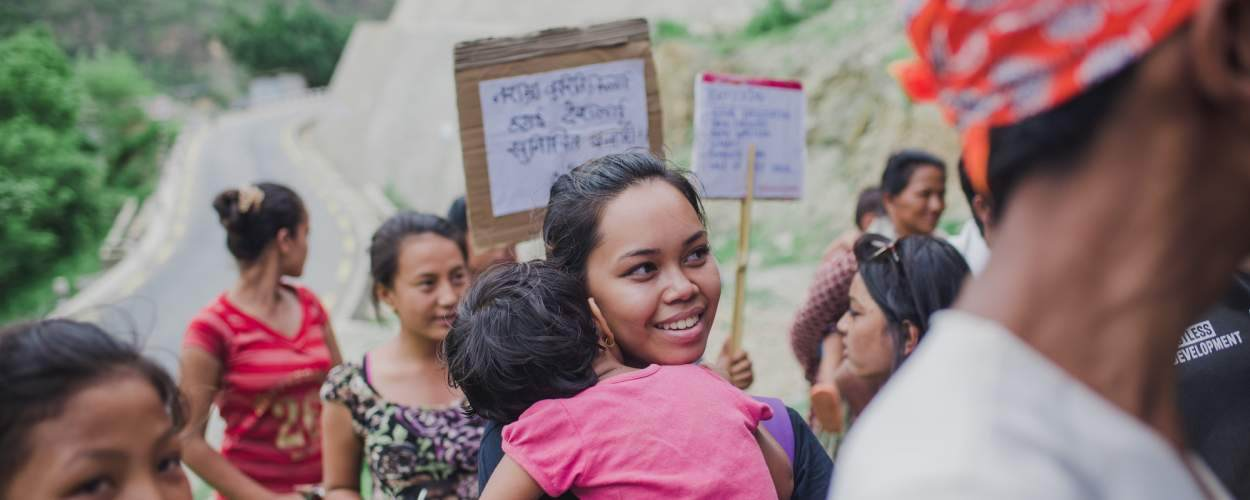 community action in Nepal