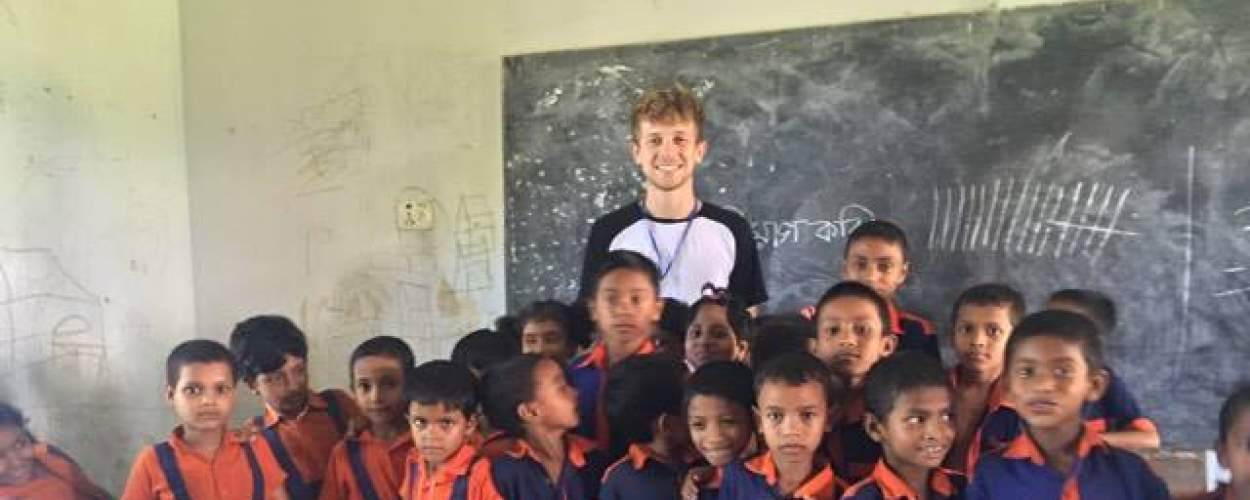 Alex Edge on placement in bangladesh
