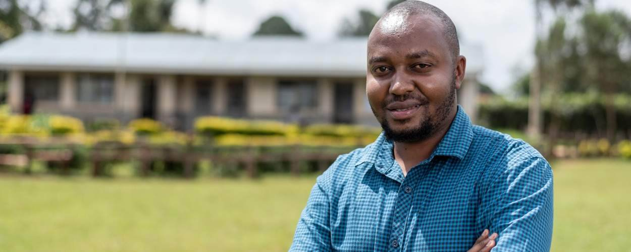 ICS alumni Harrison Kariuki is using sign language to challenge stigma