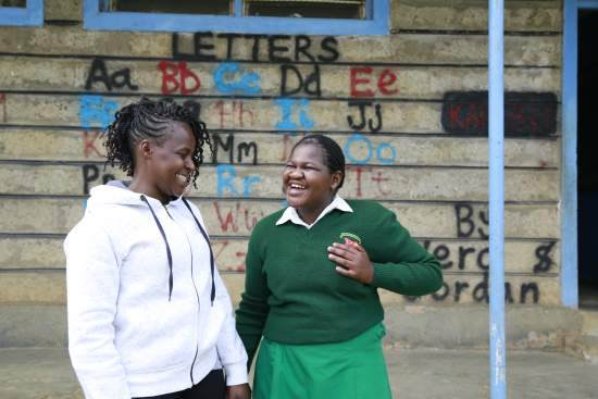 Mother Agnes Mutemi has learnt to understand her daughter's disability