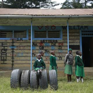 Life for disabled children growing up in Kenya can be challenging