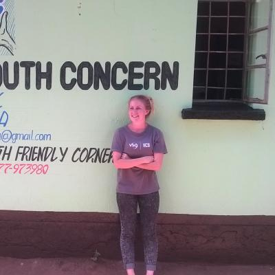 Volunteer Sarah in Zambia