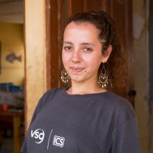 Raluca Moraru, UK volunteer, Talensi, Ghana, 2016